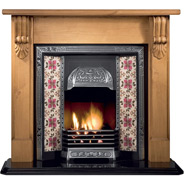 Traditional Wooden Fireplaces
