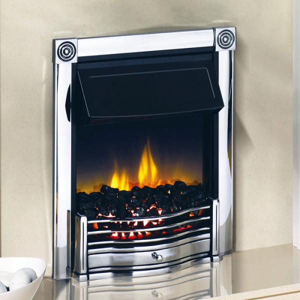 Dimplex Horton Electric Fire in Chrome