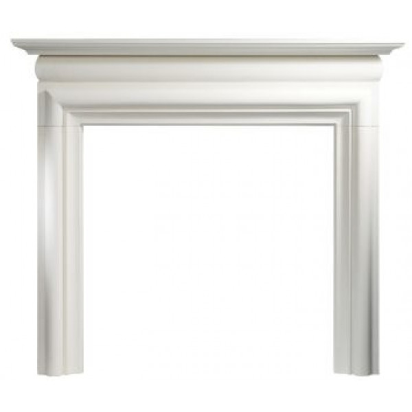 "Gallery Asquith 55"" Limestone Fireplace Surround"