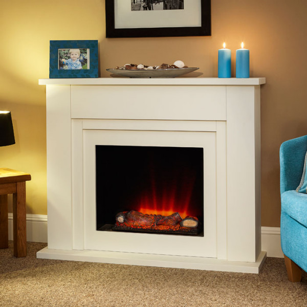 "Suncrest Bedale 43"" Electric Fireplace Suite"