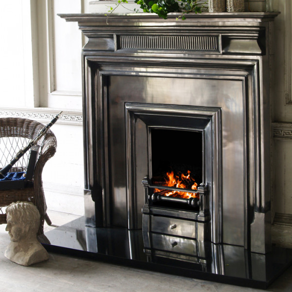 Carron Belgrave 54 Cast Iron Fireplace With Royal Narrow Cast Iron Insert Fireplaces Are Us