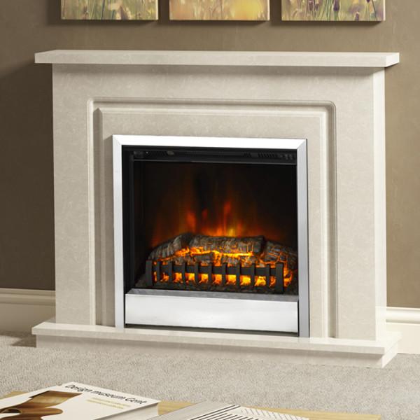 "BeModern Temperley 44"" Electric Fireplace Suite"