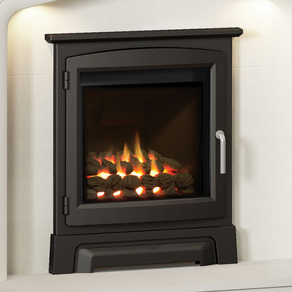 """Elgin & Hall 16"""" Cast Iron Stove Front Gas Fire"""