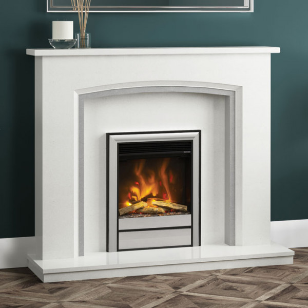 Elgin & Hall Elento Marble Fireplace Suite