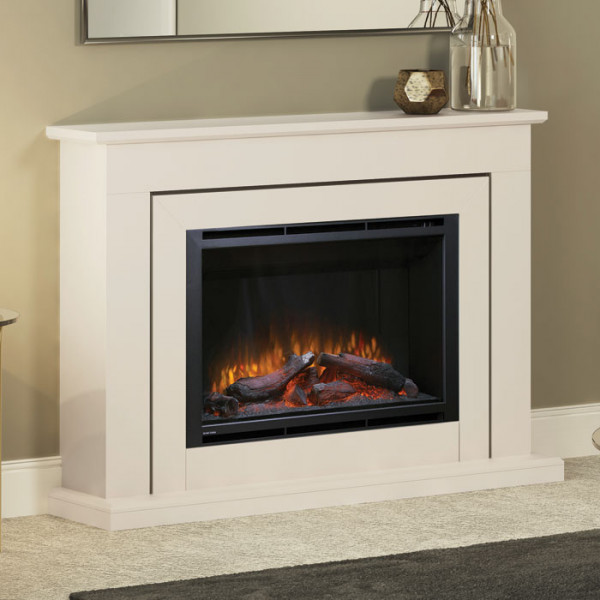 "Elgin & Hall Edwin 52"" Electric Fireplace Suite"
