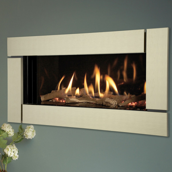 Verine Eden HE Hole in the Wall Balanced Flue Gas Fire