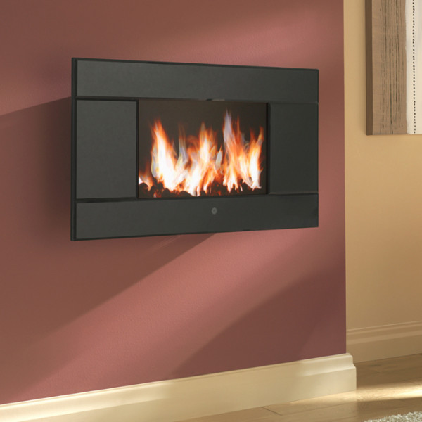 Ekofires 1100 Hang On The Wall Electric Fire Fireplaces