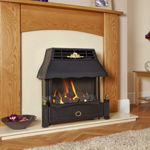 Flavel Emberglow Outset Balanced Flue Gas Fire