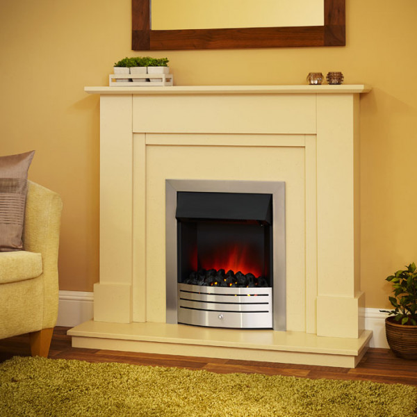 "Suncrest Herrington 46"" Electric Fireplace Suite"