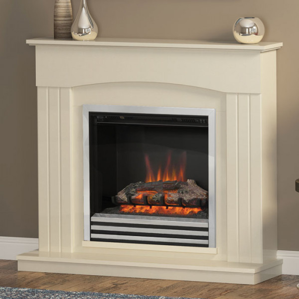 "Be Modern Linmere 44"" Electric Fireplace Suite"