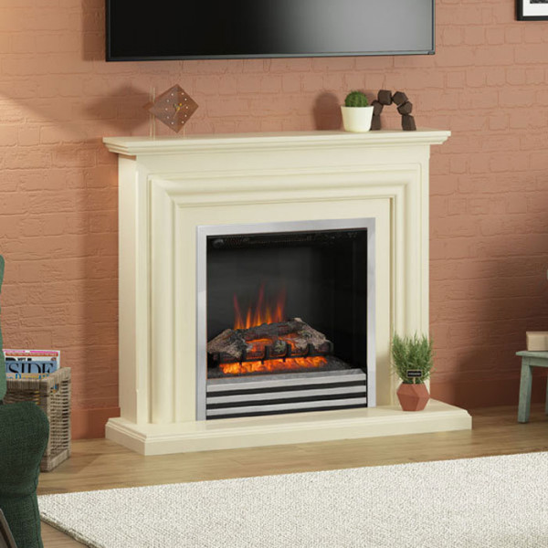 "Be Modern Carina 44"" Electric Fireplace Suite"
