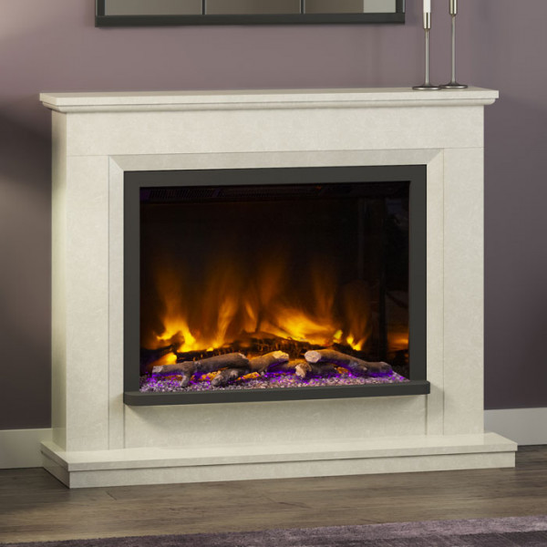 "Elgin & Hall Alesso 48"" Pryzm Electric Fireplace Suite Room Set"