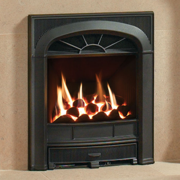 Gazco Logic Hotbox Complete Frame Inset Gas Fire - Fireplaces Are Us
