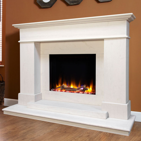 Celsi Boticelli Electric Fireplace Close Up