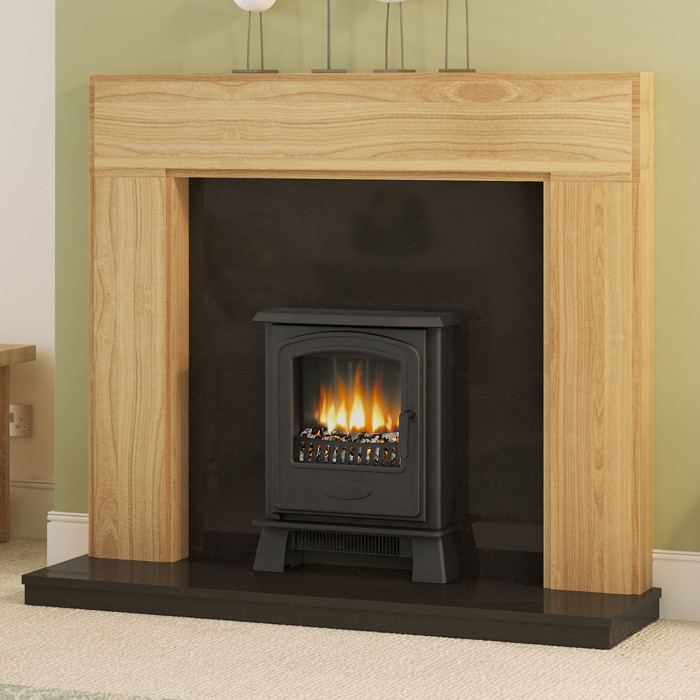 Be Modern 52 Whinfell Solid Oak Fireplace Suite