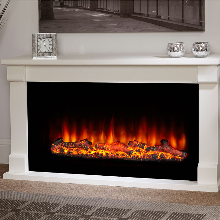 "Suncrest Bradbury 48"" Electric Fireplace Suite"