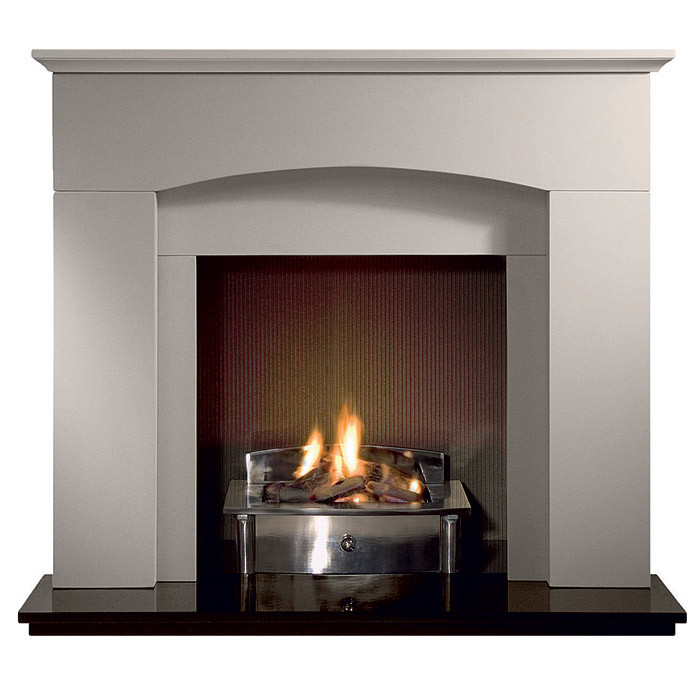 "Gallery Cartmel 48"" Stone Inglenook Fireplace"