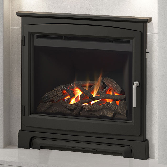 """Elgin & Hall Chollerton 22"""" Cast Stove Front Gas Fire"""