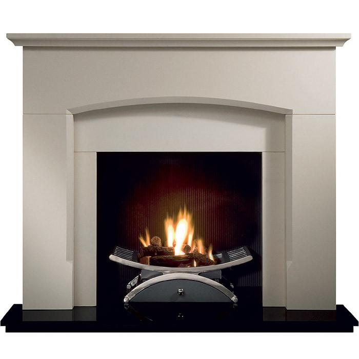 "Gallery Dacre 54"" Stone Inglenook Fireplace"