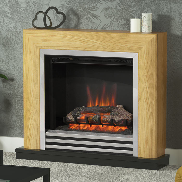 "Be Modern Devonshire 34"" Electric Fireplace Suite"