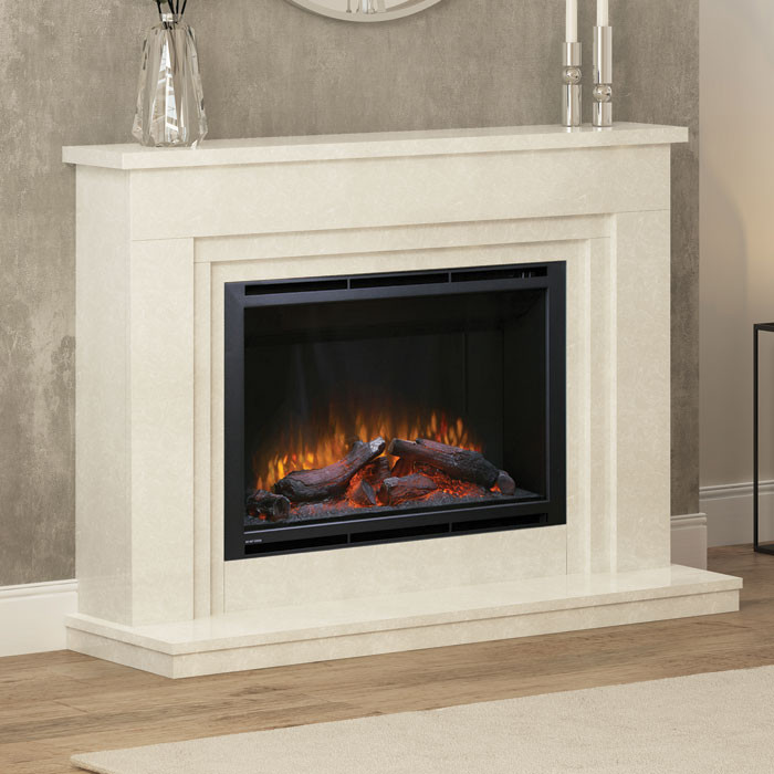 """Elgin & Hall Wayland 52"""" Electric Fireplace Suite"""