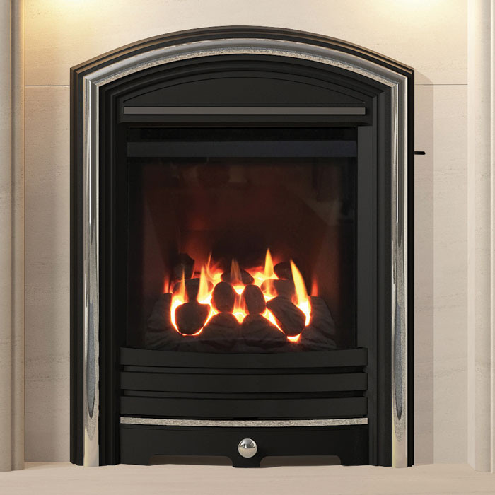Elgin & Hall Eclipsim Cast Fascia Conventional Flue Gas Fire