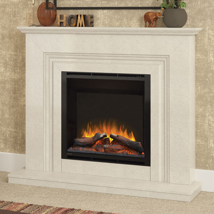 "Elgin & Hall Vamella 52"" Electric Fireplace Suite"