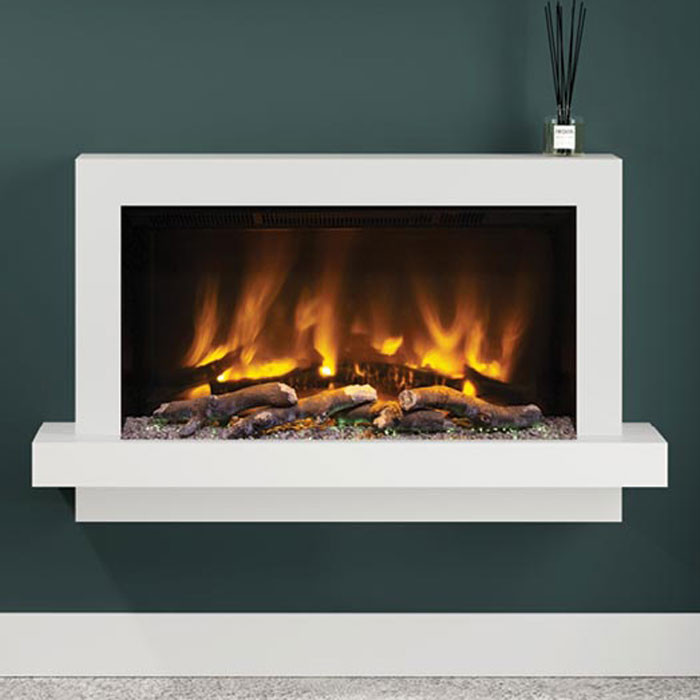 """Elgin & Hall Huxton 51"""" Wall Mounted Fireplace Suite"""