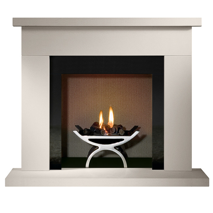 Gallery Durrington 48 Quot Stone Fireplace With Optional Pulse