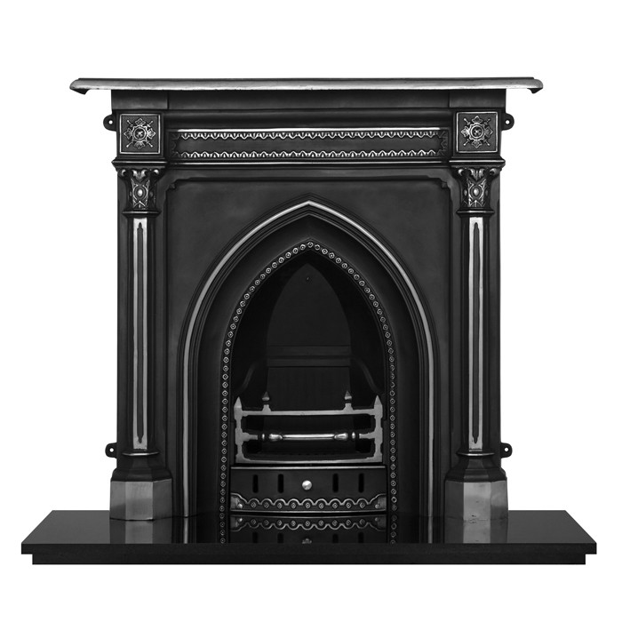 Carron Gothic Cast Iron Fireplace