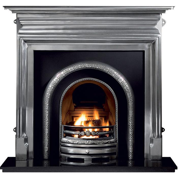 Gallery Palmerston Cast Iron Fireplace with Lytton Cast ...