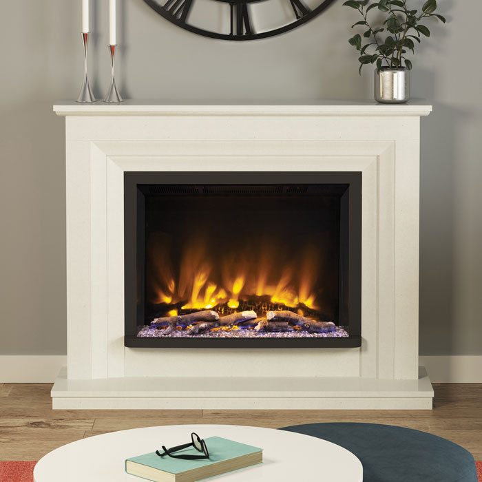 "Elgin & Hall Cabrina 52"" Pryzm Electric Fireplace Suite Room"