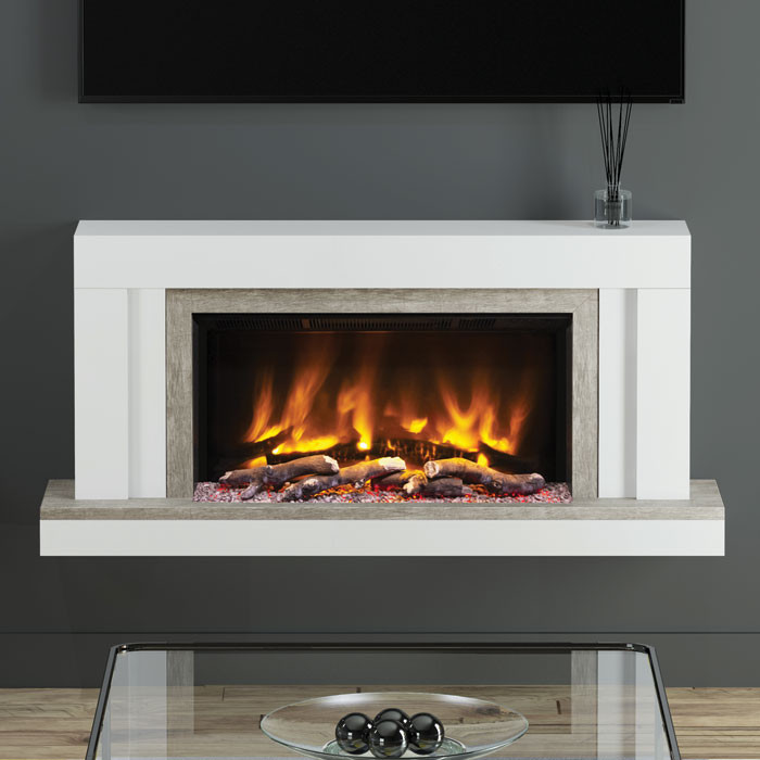 "Elgin & Hall Vardo 53"" Pryzm Electric Fireplace Suit"