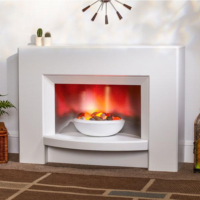 """Suncrest Stockeld 42"""" Electric Fireplace Suite"""