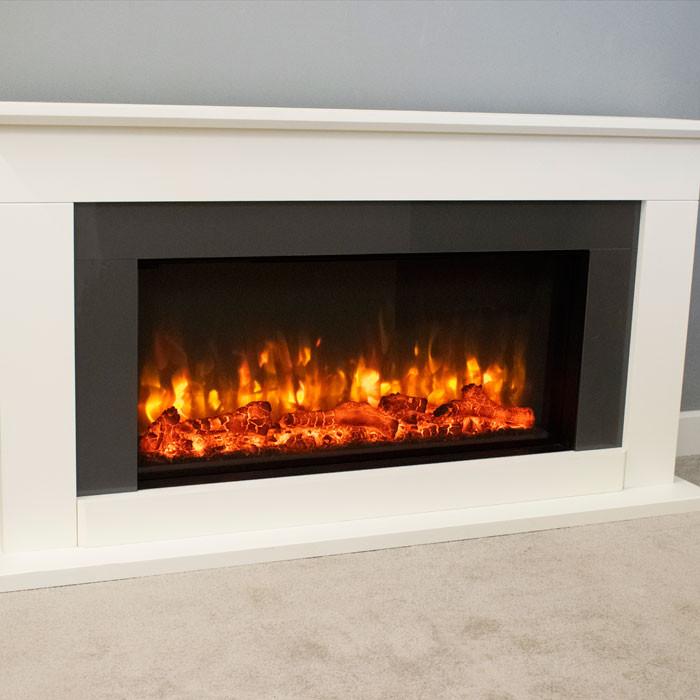 Suncrest Georgia Electric Fireplace