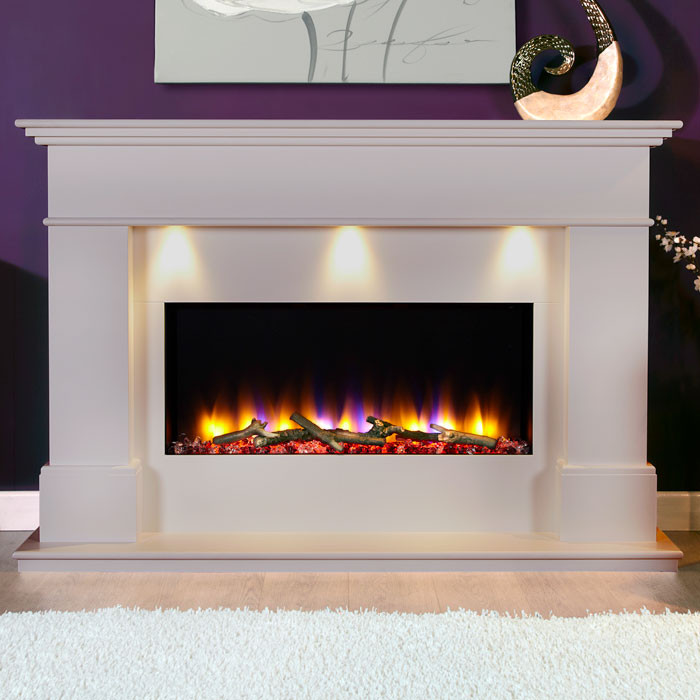 Celsi VR Adour Elite Illumia Fireplace, Smooth Mist