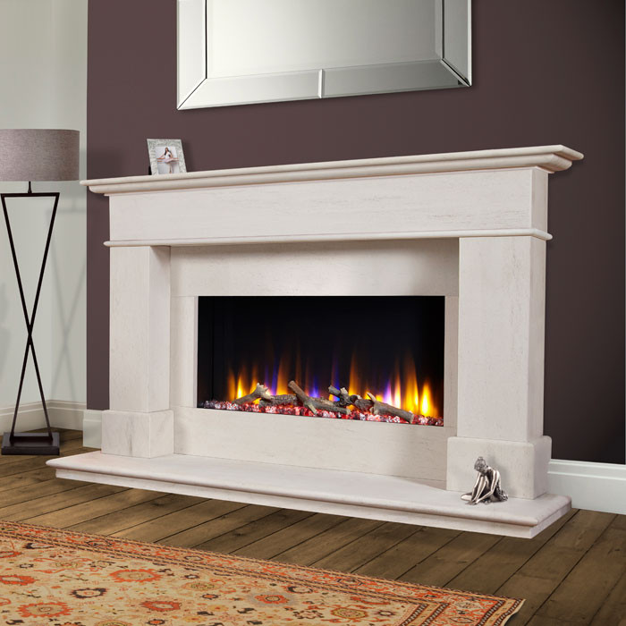 Celsi Avignon Elite Electric Fireplace Suite