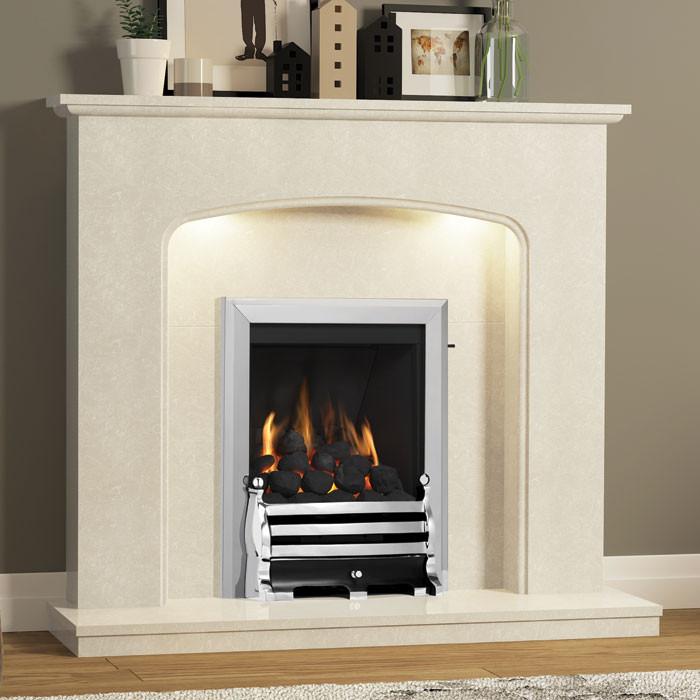 """BeModern Viola 48"""" Fireplace"""