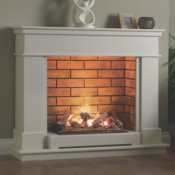 "Katell Vittoria 46"" optimyst electric fireplace suite"
