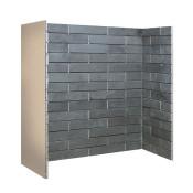 Gallery Porcelain Slate Brick Bond Chamber