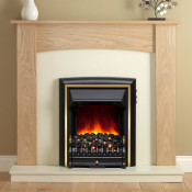 "Be Modern Ashbrooke 44"" Electric Suite With Electric Fire"
