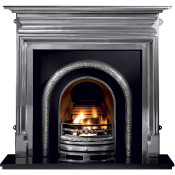 Gallery Palmerston Cast Iron Fireplace with Lytton Cast Iron Arch