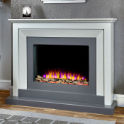 Katell Palermo electric fireplace suite