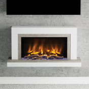 "Elgin & Hall Vardo 47"" Pryzm Electric Fireplace Suite"