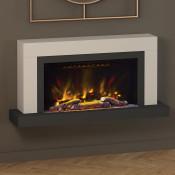 "Elgin & Hall Vardo 47"" Pryzm Electric Fireplace Suite"