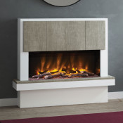 """Elgin & Hall Caselli 53"""" Pryzm Electric Fireplace Suite"""