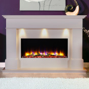 Celsi VR Adour Elite Illumia Fireplace, Smooth Mist