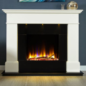 Celsi Ultiflame VR Adour Illumia Fireplace Suite, White
