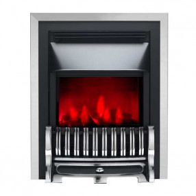 Valor Slimline Dimension Electric Fire with Alton Fret (0585003) Chrome