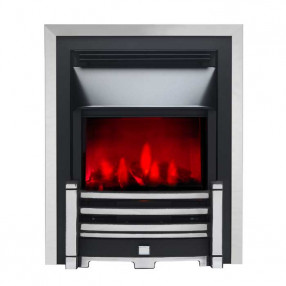 Valor Slimline Dimension Electric Fire with Clifton Fret (0585009) Chrome